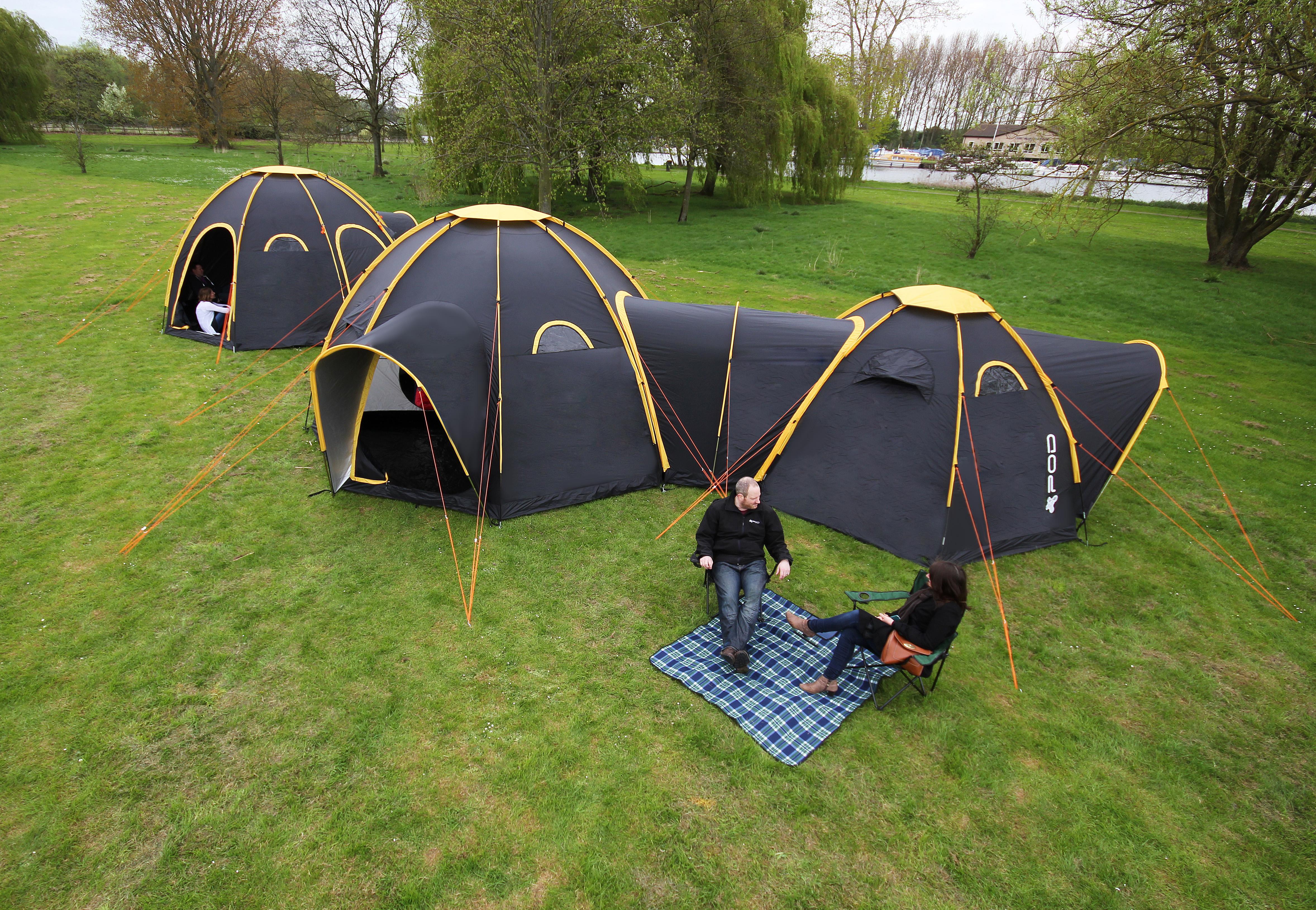Pod Tents |Modular Camping System
