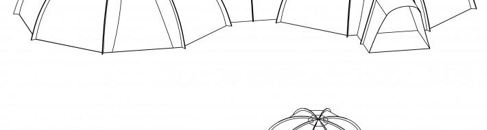 Pod tent - Design 3