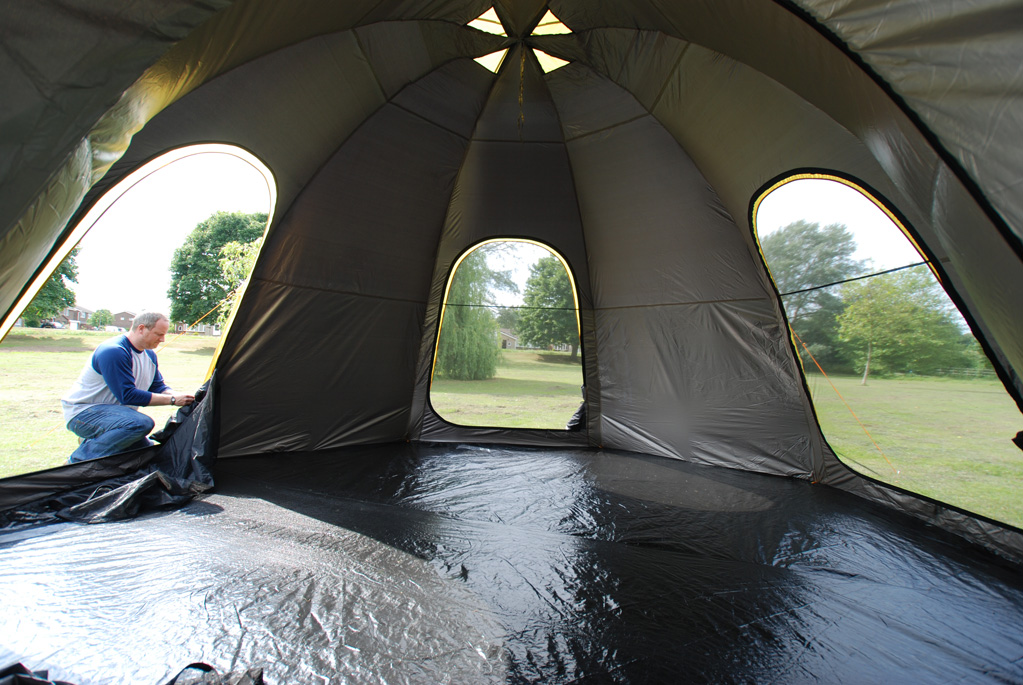 POD tent with 3 doors open. & POD Tents have landed - Pod Tents Tent Pods