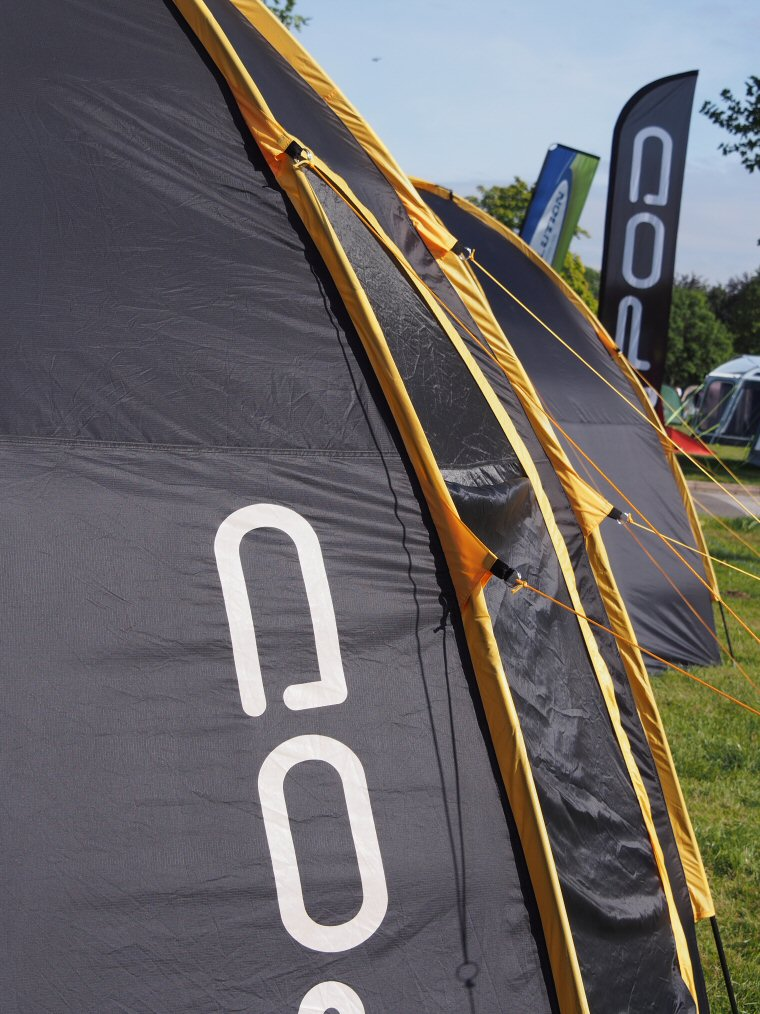 3 POD set up at this years Outdoor Trade Show & POD Tents exhibit at OTS 2013 - Pod Tents Tent Pods