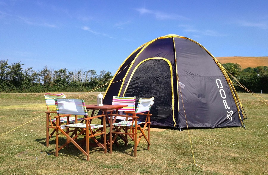 ... pod with outside furniture ... & POD Tents spotted throughout Summer 2014 - Pod Tents Tent Pods