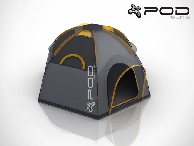 POD Tent Mini Elite & POD Tent Mini Elite- A modular camping tent POD your space
